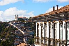 Ouro Preto cityscape Royalty Free Stock Image
