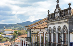 Ouro Preto houses Royalty Free Stock Images
