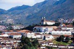 Ouro Preto in Minas Gerais Brazil Stock Images