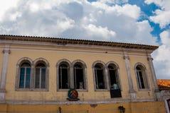 Ouro Preto, Minas Gerais, Brazil: City view of the historic mining city Outro Preto stock images
