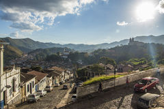 Ouro Preto - Minas Gerais - Brazil Royalty Free Stock Photo