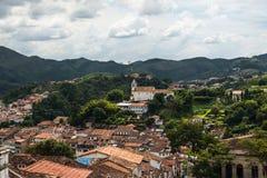 Ouro Preto in Minas Gerais, Brazil Royalty Free Stock Photography