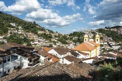 Ouro Preto in Minas Gerais - Brazil Stock Photo