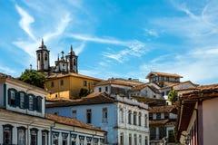 Ouro Preto in Minas Gerais - Brazil Royalty Free Stock Photos