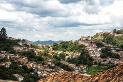 Ouro Preto in Minas Gerais - Brazil Royalty Free Stock Photography