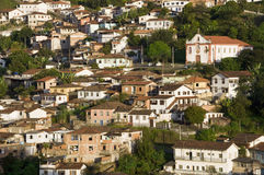 Ouro Preto. View of the uneso world heritage city of Ouro Preto in Minas Gerais, Brazil Stock Photos