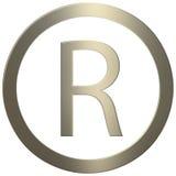Ouro R Foto de Stock