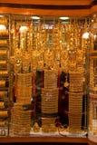 Ouro Souk - ouro puro Fotografia de Stock Royalty Free