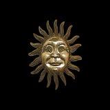 Ouro Sun foto de stock royalty free