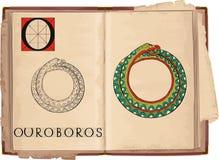 Ouroboros vector illustratie