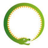 Ouroboros illustration Stock Photo