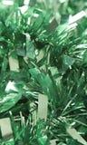 Ouropel verde Fotos de Stock Royalty Free