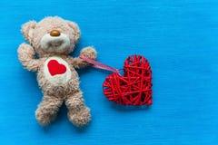 Ours avec un coeur Image stock