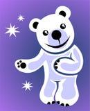 Ours blanc de dessin animé Photographie stock libre de droits