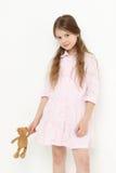Ours d'enfant et de jouet Photo stock