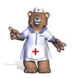 Ours d'infirmière Photos stock