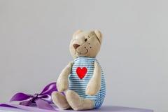 Ours dans l'amour Photographie stock libre de droits