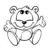 Ours de chéri illustration libre de droits