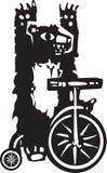 Ours de cirque Images libres de droits