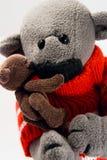 Ours de deux jouets Photo libre de droits