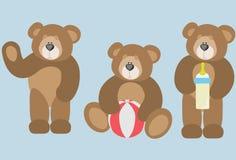 Ours de jouet illustration stock