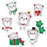 Ours de Noël illustration libre de droits