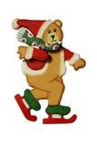 Ours de Noël Image libre de droits
