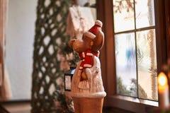 Ours de Noël dans le der Tauber d'ob de Rothenburg Images stock