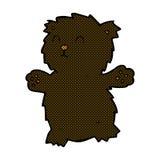 ours de nounours comique de bande dessinée Photo stock