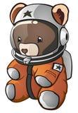 Ours de nounours d'astronaute Photographie stock libre de droits