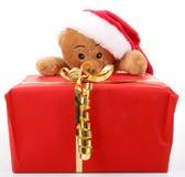 Ours de nounours de Noël Images libres de droits