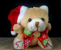 Ours de nounours de Santa Claus Photos stock