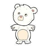 ours de nounours drôle de bande dessinée comique Photographie stock