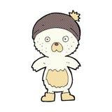 ours de nounours mignon de bande dessinée comique Photos libres de droits
