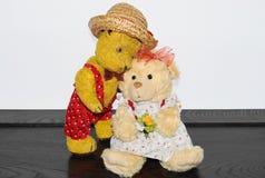 Ours de nounours Morulet dans l'amour Photo libre de droits