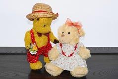 Ours de nounours Morulet dans l'amour Photo stock