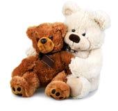 Ours de nounours tenu par un autre ours de nounours Photos stock
