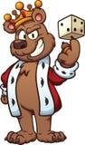 Ours de roi illustration libre de droits