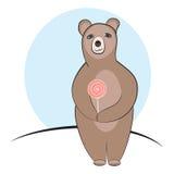 Ours de sucrerie Images libres de droits