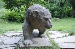 Ours en pierre Photo libre de droits