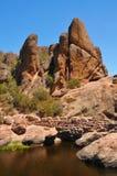 Ours Gulch Resevoir de parc national de sommets Image stock