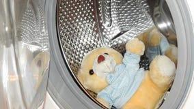 Ours jaune de jouet Image stock