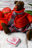 Ours mol de jouet Photographie stock