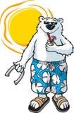 Ours-N-Sun illustration de vecteur