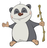 Ours Panda cartoon Photo libre de droits
