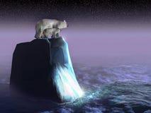 Ours perdus Photos libres de droits