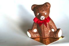 Ours suisse de chocolat Image stock
