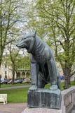 Ours - symbole de la ville Pori finland Images libres de droits