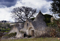Ouse de Trulli Fotos de Stock Royalty Free