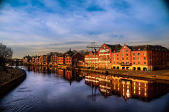 Ouse river,york Stock Image
